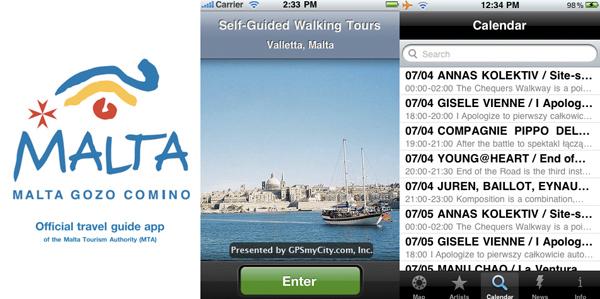 Malta, le app per iPhone / iPad / iPod Touch