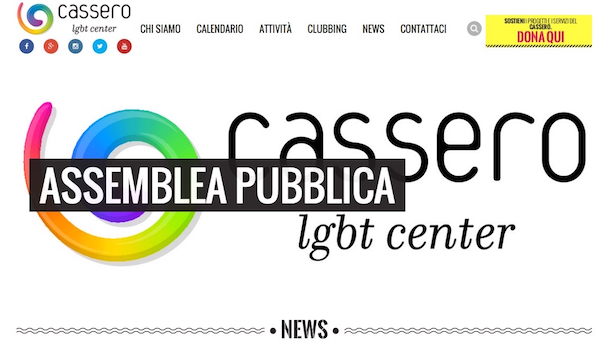 Homepage di www.cassero.it